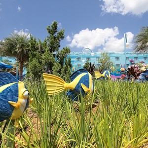 17 of 26: Disney's Art of Animation Resort - Gardens in the Finding Nemo section of Disney's Art of Animation Resort