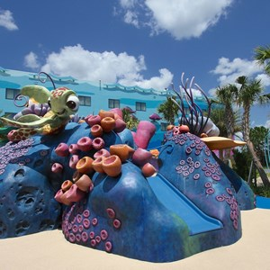 18 of 26: Disney's Art of Animation Resort - The Righteous Reef Playground in the Finding Nemo section of Disney's Art of Animation Resort