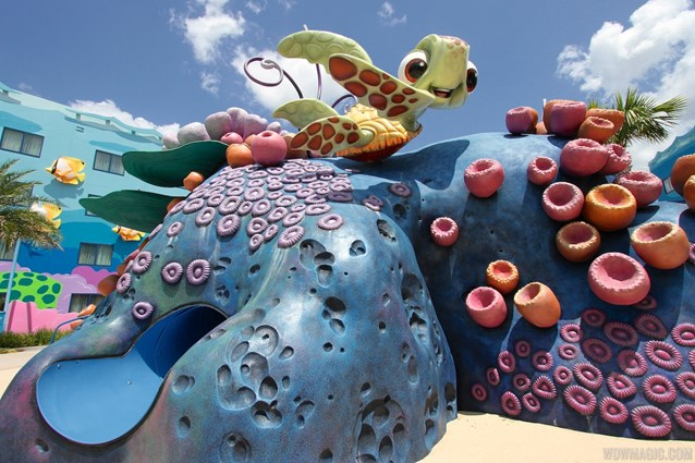 Disney's Art of Animation Resort - The Righteous Reef Playground in the Finding Nemo section of Disney's Art of Animation Resort