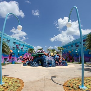 20 of 26: Disney's Art of Animation Resort - The Righteous Reef Playground in the Finding Nemo section of Disney's Art of Animation Resort
