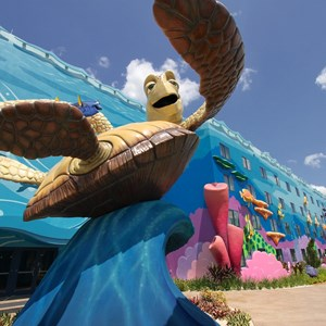 21 of 26: Disney's Art of Animation Resort - Crush in the Finding Nemo section of Disney's Art of Animation Resort