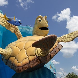 22 of 26: Disney's Art of Animation Resort - Crush in the Finding Nemo section of Disney's Art of Animation Resort