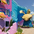 Disney's Art of Animation Resort - Crush in the Finding Nemo section of Disney's Art of Animation Resort