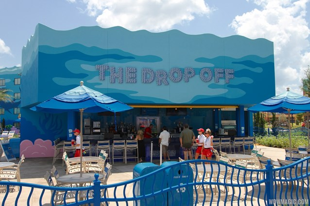 Disney's Art of Animation Resort - The Drop Off pool bar in the Finding Nemo section of Disney's Art of Animation Resort
