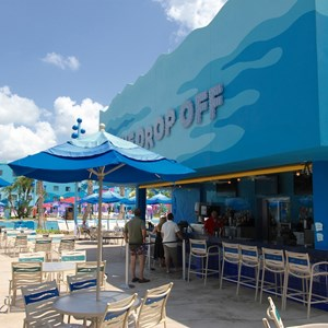 26 of 26: Disney's Art of Animation Resort - The Drop Off pool bar in the Finding Nemo section of Disney's Art of Animation Resort