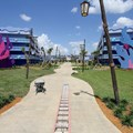 Disney's Art of Animation Resort - Disney's Art of Animation - Little Mermaid section viewed from the Lion King section