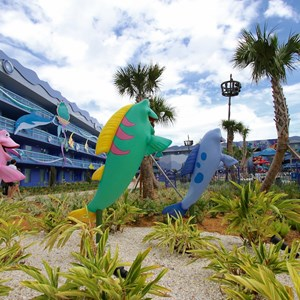 2 of 31: Disney's Art of Animation Resort - Disney's Art of Animation - Little Mermaid section