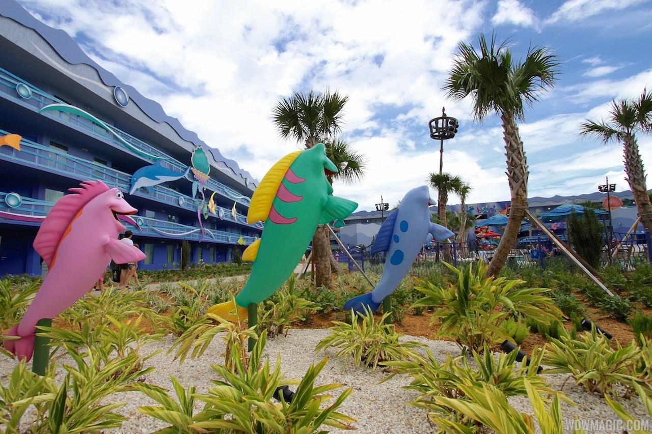Disney's Art of Animation - Little Mermaid section