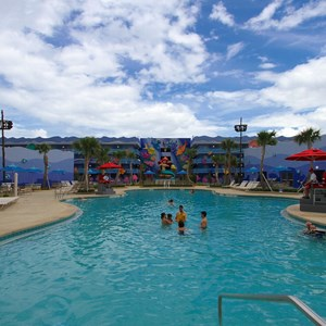 3 of 31: Disney's Art of Animation Resort - Disney's Art of Animation - Little Mermaid section - Flippin' Fins Pool