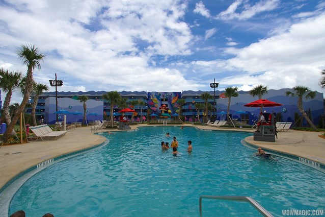Disney's Art of Animation Resort - Disney's Art of Animation - Little Mermaid section - Flippin' Fins Pool