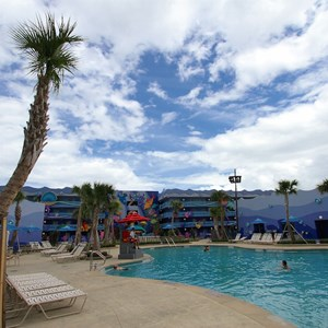 4 of 31: Disney's Art of Animation Resort - Disney's Art of Animation - Little Mermaid section - Flippin' Fins Pool