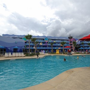 6 of 31: Disney's Art of Animation Resort - Disney's Art of Animation - Little Mermaid section - Flippin' Fins Pool