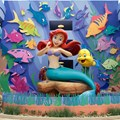 Disney's Art of Animation Resort - Disney's Art of Animation - Little Mermaid section Ariel figure