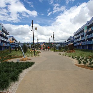 15 of 31: Disney's Art of Animation Resort - Disney's Art of Animation - Little Mermaid section pathway
