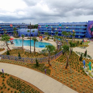 19 of 31: Disney's Art of Animation Resort - Disney's Art of Animation - Little Mermaid section overview