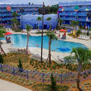20 of 31: Disney's Art of Animation Resort - Disney's Art of Animation - Little Mermaid section overview