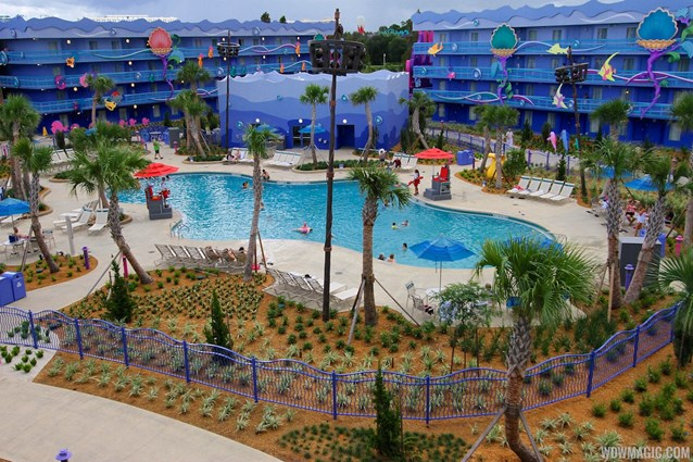 Disney's Art of Animation Resort - Disney's Art of Animation - Little Mermaid section overview