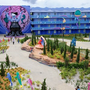 21 of 31: Disney's Art of Animation Resort - Disney's Art of Animation - Little Mermaid section overview