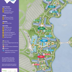 1 of 1: Disney's Art of Animation Resort - 2013 Art of Animation guide map