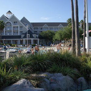 3 of 4: Disney's Beach Club Resort - Stormalong Bay after refurbishment