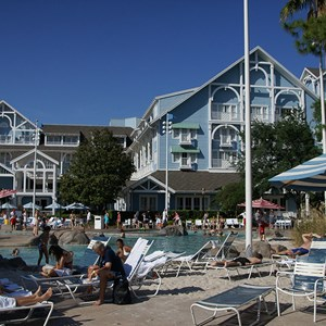 4 of 4: Disney's Beach Club Resort - Stormalong Bay after refurbishment