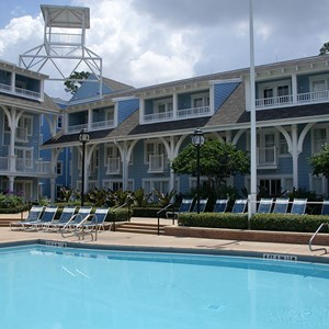 6 of 8: Disney's Beach Club Resort - Beach Club quiet pool