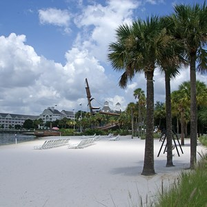 1 of 6: Disney's Beach Club Resort - Beach Club beach area