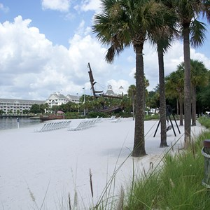 4 of 6: Disney's Beach Club Resort - Beach Club beach area