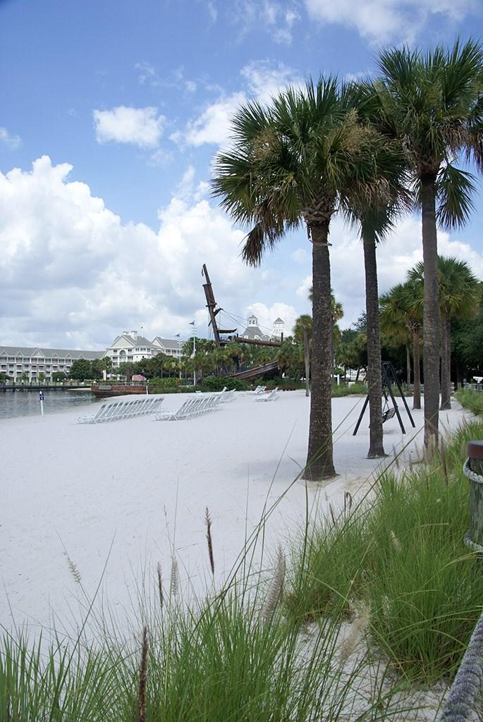 Beach Club beach area