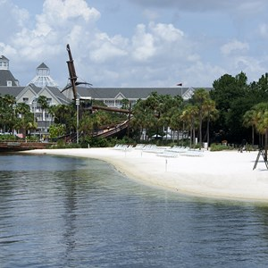 5 of 6: Disney's Beach Club Resort - Beach Club beach area