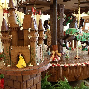 14 of 16: Disney's Beach Club Resort - Beach Club Resort holiday decorations 2009