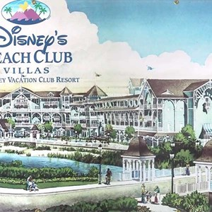 1 of 3: Disney's Beach Club Villas - Latest construction photos from the Beach Club Villas