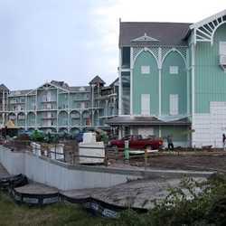 Latest construction photos from the Beach Club Villas