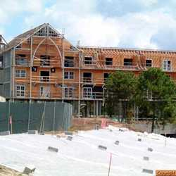 Latest construction photos from the Beach Club Villas