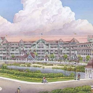 1 of 1: Disney's Beach Club Villas - Beach Club Villas concept art