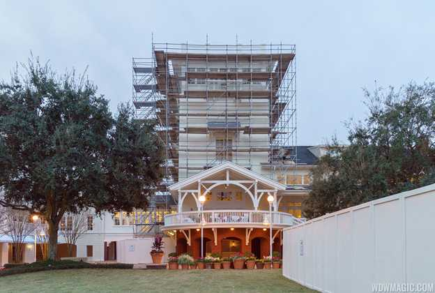 BoardWalk Inn exterior refurbishment