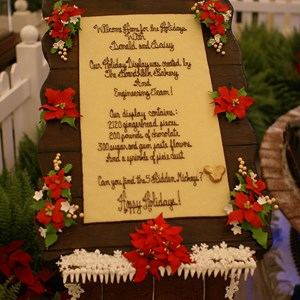 2 of 5: Disney's BoardWalk Inn - Boardwalk Lobby Holiday Decorations