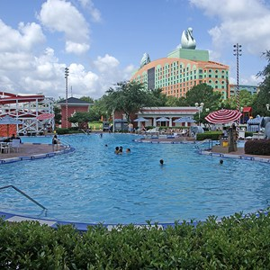 1 of 9: Disney's BoardWalk Inn - BoardWalk Inn Luna Park main feature pool