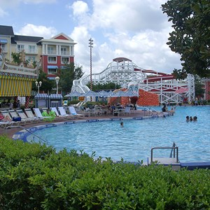 2 of 9: Disney's BoardWalk Inn - BoardWalk Inn Luna Park main feature pool