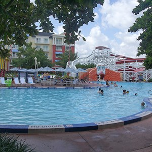 3 of 9: Disney's BoardWalk Inn - BoardWalk Inn Luna Park main feature pool