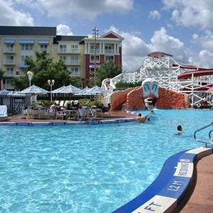 5 of 9: Disney's BoardWalk Inn - BoardWalk Inn Luna Park main feature pool