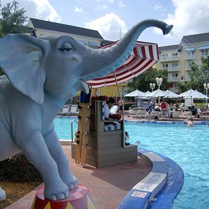 6 of 9: Disney's BoardWalk Inn - BoardWalk Inn Luna Park main feature pool