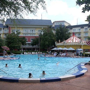 8 of 9: Disney's BoardWalk Inn - BoardWalk Inn Luna Park main feature pool