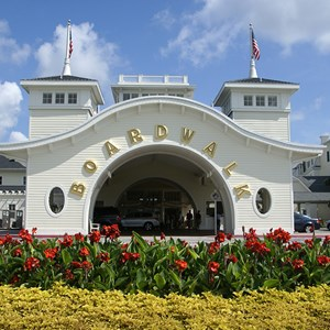1 of 25: Disney's BoardWalk Inn - Boardwalk Inn buildings and grounds
