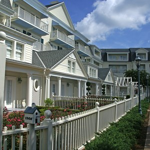 10 of 25: Disney's BoardWalk Inn - Boardwalk Inn buildings and grounds