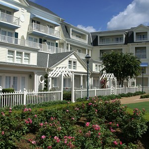 12 of 25: Disney's BoardWalk Inn - Boardwalk Inn buildings and grounds