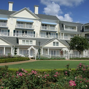 14 of 25: Disney's BoardWalk Inn - Boardwalk Inn buildings and grounds