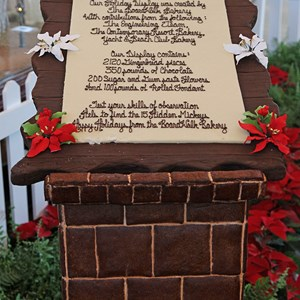 9 of 24: Disney's BoardWalk Inn - Disney's BoardWalk Inn holiday decorations 2009