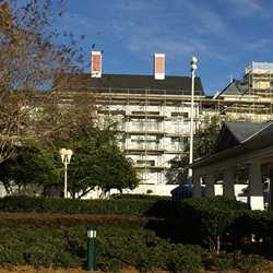 BoardWalk Villas exterior refurbishment