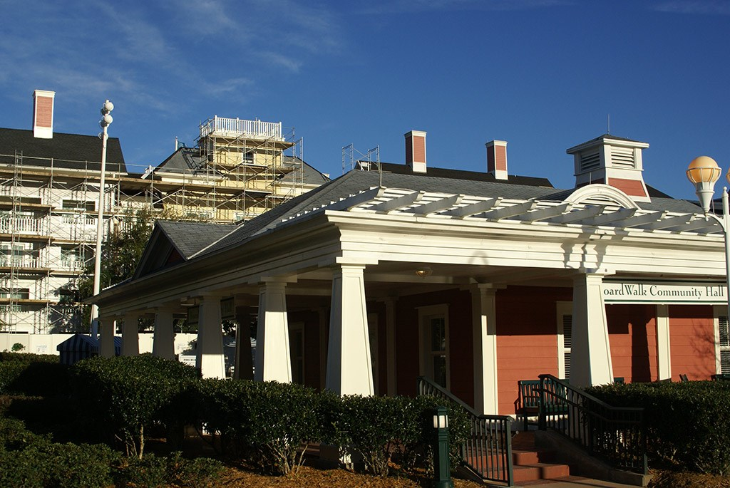 BoardWalk Villas exterior refurbishment